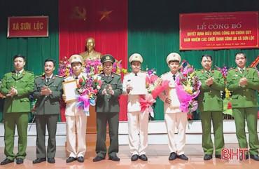 7 công an chính quy đảm nhiệm chức danh công an xã ở Can Lộc