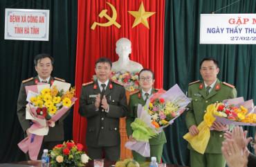 Công an tỉnh gặp mặt kỷ niệm 65 năm Ngày Thầy thuốc Việt Nam
