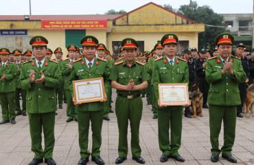 Phòng Cảnh sát cơ động ra quân huấn luyện năm 2020
