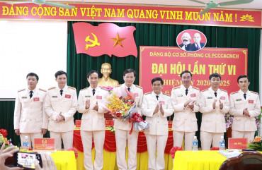 Đại hội Đảng bộ cơ sở Phòng Cảnh sát PCCC &CNCH Công an tỉnh