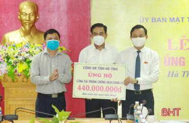 Hà Tĩnh: Hơn 18,3 tỷ đồng ủng hộ chương trình phòng chống dịch Covid-19
