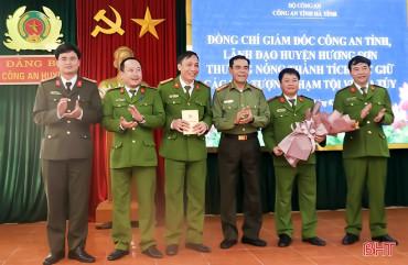 Công an Hương Sơn xây dựng lực lượng chính quy đáp ứng yêu cầu tình hình mới