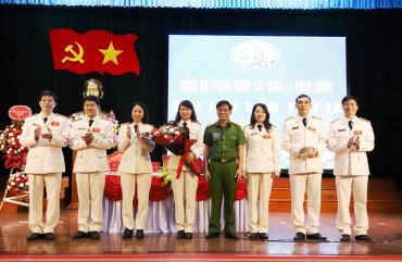 Đại hội Đảng bộ cơ sở phòng Cảnh sát Quản lý  hành chính về trật tự xã hội