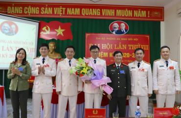 Đại hội Chi bộ phòng An ninh Đối nội lần thứ VIII