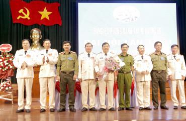Đại hội Đảng bộ Phòng Cảnh sát giao thông Công an tỉnh lần thứ I