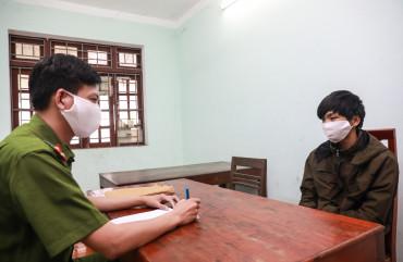 Công an Hương Sơn bắt quả tang đối tượng tàng trữ trái phép chất ma túy