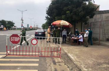 Thành phố Hà Tĩnh triển khai 9 chốt kiểm tra phòng, chống dịch Covid-19