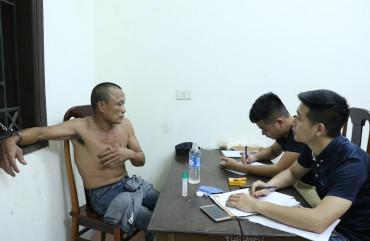 Bắt đối tượng giết người ở Thị xã Hồng Lĩnh sau gần 8 giờ lẫn trốn