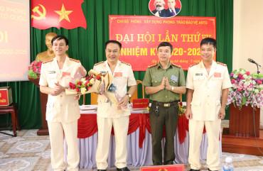 Đại hội Chi bộ Phòng Xây dựng phong trào bảo vệ an ninh Tổ quốc lần thứ VII