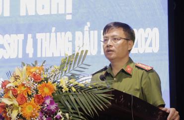 Giao ban Cơ quan Cảnh sát điều tra 4 tháng đầu năm 2020