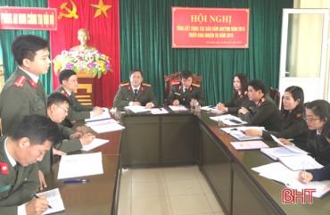 Những chiến công thầm lặng của lực lượng an ninh chính trị nội bộ Hà Tĩnh