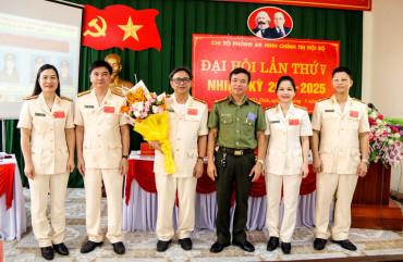 Chi bộ Phòng An ninh chính trị nội bộ tổ chức Đại hội nhiệm kỳ 2020-2025