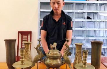Công an Lộc Hà: Bắt đối tượng trộm cắp tài sản