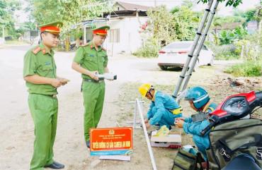 Xã đầu tiên của huyện Hương Khê triển khai mô hình camera giám sát ANTT