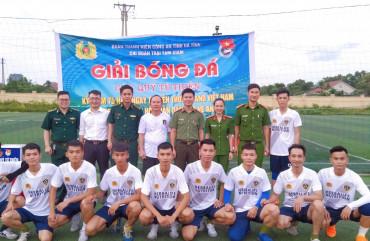 Trại tạm giam Công an tỉnh tổ chức thành công Giải bóng đá gây quỹ từ thiện năm 2020