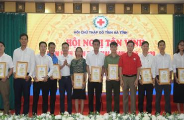 Đoàn Thanh niênCông antỉnh được tôn vinh hiến máu tiêu biểu năm 2020