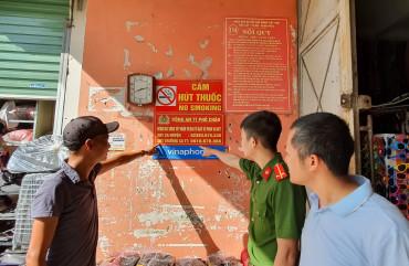 Công an Hương Sơn gắn 650 bảng thông báo đường dây nóng tại 100% xã, thị trấn