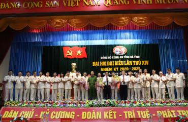 Đại tá Lê Khắc Thuyết trúng cử chức vụ Bí thư Đảng bộ Công an Hà Tĩnh lần thứ XIV, nhiệm kỳ 2020 - 2025
