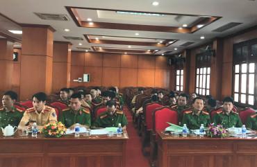 Rèn bản lĩnh, luyện chuyên môn cho đội ngũ cán bộ phòng chống tội phạm Công an thành phố Hà Tĩnh