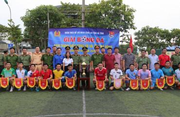 Khai mạc Giải bóng đá Nam Thanh niên Công an Hà Tĩnh