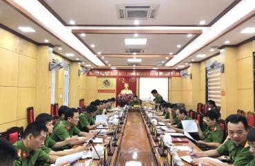 Công an TP Hà Tĩnh triển khai đợt cao điểm tấn công trấn áp tội phạm, đảm bảo ANTT bảo vệ các sự kiện chính trị quan trọng năm 2020