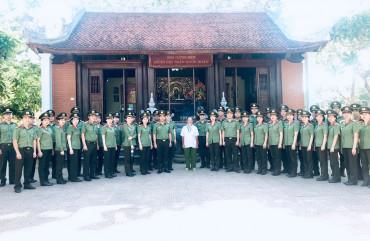 Đoàn thanh niên, Hội phụ nữ Khối XDLL Công an 2 tỉnh Nghệ An, Hà Tĩnh tri ân tại huyện Hưng Nguyên, Nam Đàn