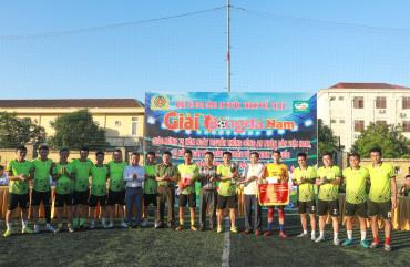 Công an Hương Sơn vô địch giải bóng đá khối Công an huyện thành phố, thị xã