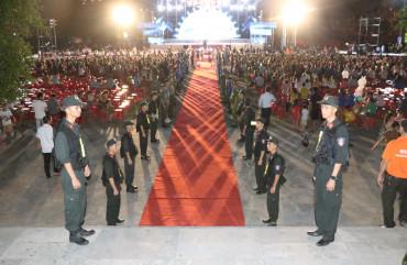 """Lực lượng Công an Hà Tĩnh đảm bảo tốt an ninh trật tự chương trình nghệ thuật """"Huyền thoại Đồng Lộc"""""""