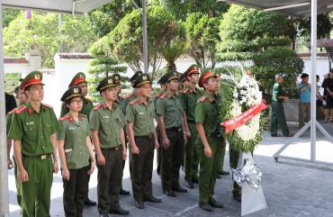 Đoàn Thanh niên Công an tỉnh: Nhiều hoạt động tri ân kỷ niệm 73 năm ngày Thương binh, liệt sĩ