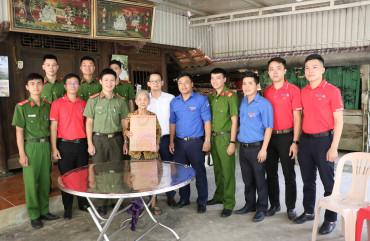 Đoàn thanh niên Công an tỉnh tri ân Ngày Thương binh - Liệt sỹ
