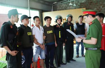 """Triệt phá băng nhóm chuyên thu """"phí bảo kê"""" ở khu vực trước cổng Formosa Hà Tĩnh"""