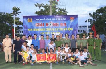 Phòng Cảnh sát cơ động vô địch Giải bóng đá nam thanh niên Công an Hà Tĩnh mở rộng