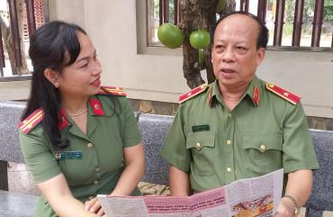 Thiếu tướng Nguyễn Thanh Tân – Nguyên Giám đốc Công an tỉnh: mong muốn các thế hệ đang công tác biết trân quý truyền thống và phát huy truyền thống