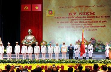 Kỷ niệm trọng thể 75 năm Ngày truyền thống CAND và 15 năm Ngày hội toàn dân bảo vệ ANTQ