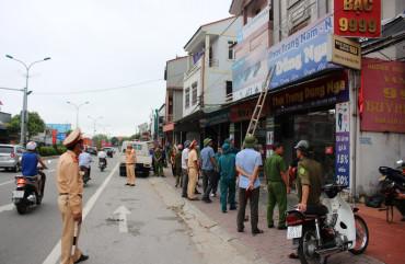 Can Lộc: Hoàn thành giải tỏa hành lang ATGT trên địa bàn thị trấn Nghèn