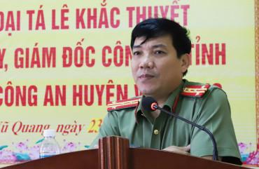 Triển khai đồng bộ các biện pháp giữ vững ANTT huyện Vũ Quang