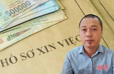 """Lừa 4 người dân Hà Tĩnh hơn 2 tỷ đồng """"chạy trường"""" công an, quân đội, nguyên đại úy ở Nghệ An bị khởi tố, bắt giam"""