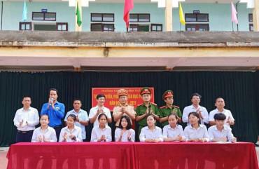 Tuyên truyền kiến thức phòng cháy, chữa cháycho học sinh trên địa bàn huyện Hương Sơn