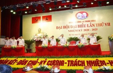 Đại hội đại biểu Đảng bộ Công an Trung ương lần thứ VII tiến hành phiên trù bị