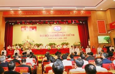Khai mạc trọng thể Đại hội đại biểu Đảng bộ Công an Trung ương lần thứ VII
