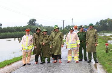 Chủ động làm tốt công tác phòng chống bão lụt trên địa bàn