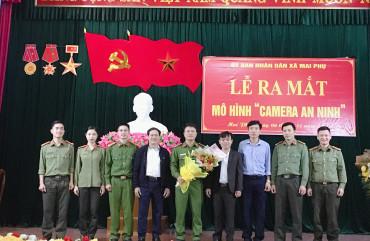"""Xã Mai Phụ, Lộc Hà ra mặt mô hình """"Camera an ninh"""""""