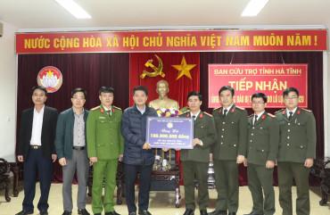 Học viện An ninh nhân dân ủng hộ Nhân dân Hà Tĩnh 100 triệu đồng