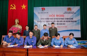 Hơn 400 đoàn viên Hương Sơn được tuyên truyền pháp luật phòng chống các tệ nạn xã hội