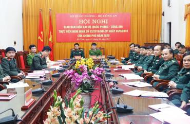 Công an và Quân đội tăng cường phối hợp thực hiện Nghị định số 03 của Chính phủ