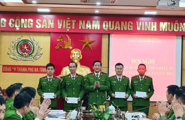 Công an thành phố Hà Tĩnh: Một năm nhìn lại