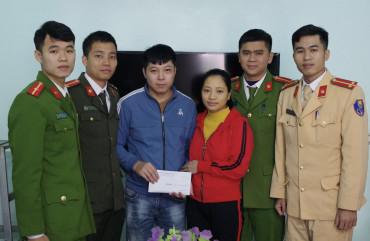 """Công an huyện Cẩm Xuyên """"Ấm tình đồng chí, đồng đội"""""""