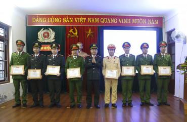 Công an huyện Lộc Hà tổng kết công tác Công an năm 2020, triển khai nhiệm vụ năm 2021