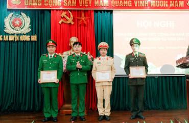 Công an huyện Hương Khê triển khai nhiệm vụ năm 2021