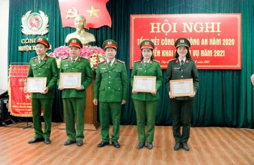 Công an huyện Thạch Hà triển khai nhiệm vụ năm 2021
